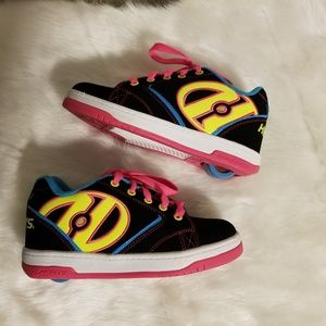 Heelys skate shoes girls youth size 2